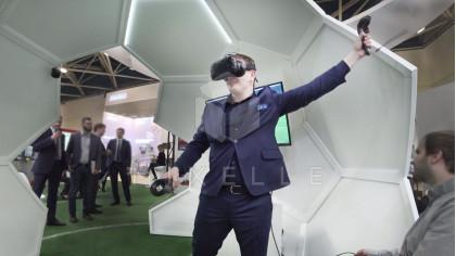 """Аренда аттракциона """"VR Футбол"""" на выездное мероприятие"""