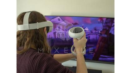 Аренда аттракциона Oculus Quest 2 с трансляцией на экран