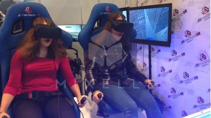 Аренда двухместного VR аттракциона StarVR Duo