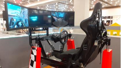 Аренда автосимулятора Auto3D на мероприятие