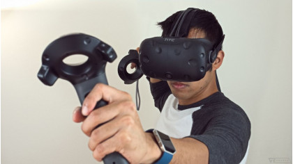 Аренда виртуального шлема HTC Vive на выезд